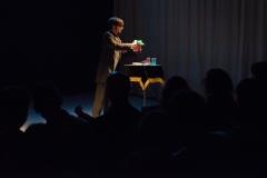Actuación en teatro